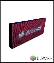 64x32 CM FULL RENK RGB KAYAN YAZI - Thumbnail