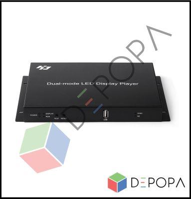 HD A601 YÜKSEK ÇÖZÜNÜRLÜKLÜ RGB SENDER BOX