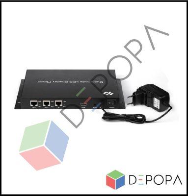 HD A602 YÜKSEK ÇÖZÜNÜRLÜKLÜ RGB SENDER BOX