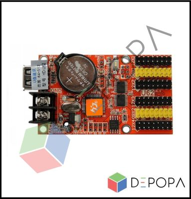 HD U62 Tek Renk Kontrol Kartı