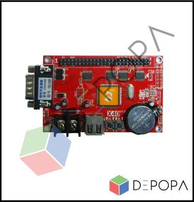 HD U64 (X40) Tek Renk Kontrol Kartı